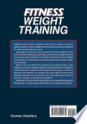 Fitness Weight Training 3e PDF