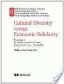 Cultural Diversity Versus Economic Solidarity Book