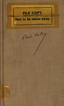 The Collected Works of Paul Valery