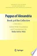Pappus of Alexandria: Book 4 of the Collection