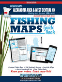 Alexandria Area   West Central Minnesota Fishing Map Guide