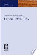 Lettere, 1936-1963