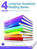 Longman Academic Reading Series 4 + Longman Academic Writing Series 3  : Reading Skills for College / Paragraphs to Essays