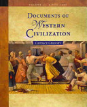 Documents of Western Civilization  Since 1500