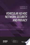 Vehicular Ad Hoc Network Security and Privacy Book
