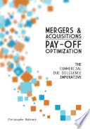 Mergers   Acquisitions Pay off Optimization Book