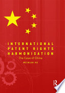 International Patent Rights Harmonisation