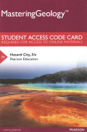 Hazard City for Masteringgeology Access Card for Hazard City