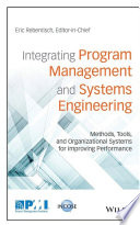 Integrating Program Management And Systems Engineering Book PDF