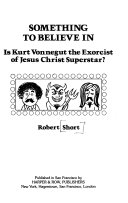 Something to Believe in: Is Kurt Vonnegut the Exorcist of ...