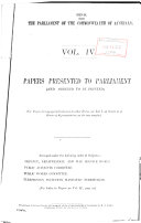 Records of the Proceedings and Printed Papers of the Parliament