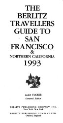 The Berlitz Travellers Guide to San Francisco   Northern California Book