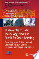 The Interplay of Data  Technology  Place and People for Smart Learning
