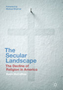 Pdf The Secular Landscape