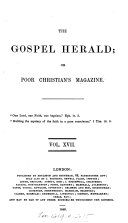 The Gospel herald; or, Poor Christian's magazine