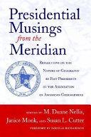 Presidential Musings from the Meridian