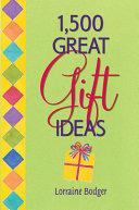 1,500 Great Gift Ideas Pdf/ePub eBook