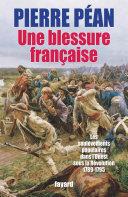 Pdf Une blessure française Telecharger