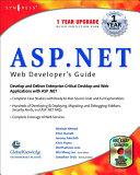 ASP Net Web Developer s Guide