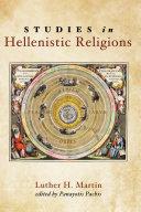 Studies in Hellenistic Religions