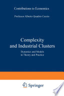 Complexity and Industrial Clusters