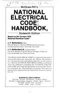 McGraw Hill s National Electrical Code Handbook