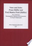 Vater und Sohn: Franz Hüffer und Ford Madox Ford (Hüffer)