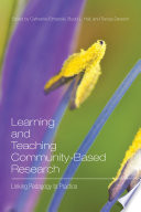 Learning And Teaching Community Based Research Book PDF