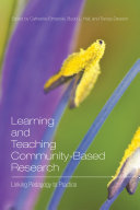 Learning and Teaching Community Based Research