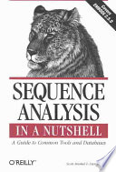 Sequence Analysis in a Nutshell: A Guide to Tools