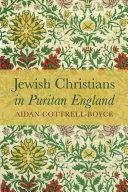 Jewish Christians in Puritan England Pdf/ePub eBook