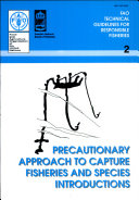 Pdf Precautionary Approach to Capture Fisheries and Species Introduction