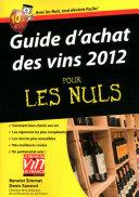 Pdf Guide d'achat des vins 2012 Pour les Nuls Telecharger