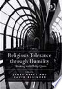 Religious Tolerance Through Humility