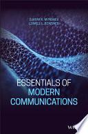 Essentials of Modern Communications Book