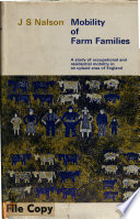 Mobility of Farm Families