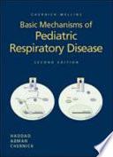 Chernick Mellins Basic Mechanisms Of Pediatric Respiratory Disease Book PDF