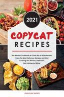 Copycat Recipes 2021 Book