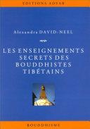 Pdf Les Enseignements secrets des Bouddhistes tibétains Telecharger