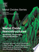 Metal Oxide Nanostructures Book PDF