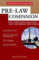 Pre-law Companion