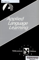 Applied Language Learning