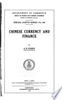 Chinese Currency and Finance