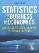 Statistics for Business and Economics, 4th Edition