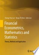 Financial Econometrics  Mathematics and Statistics