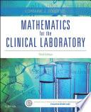 Mathematics for the Clinical Laboratory - E-Book