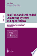 Real-Time and Embedded Computing Systems and Applications