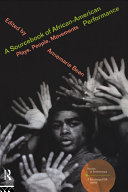 A Sourcebook on African American Performance
