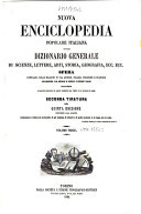 *Dizionario generale di scienze, lettere, arti, storia, geografia ...