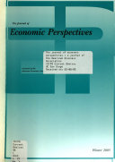 The Journal of Economic Perspectives Book PDF